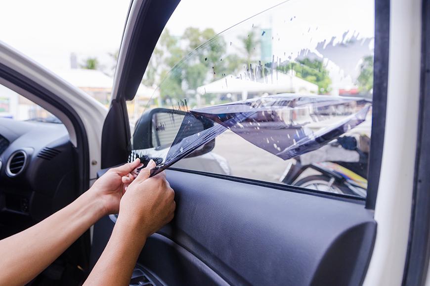 Légalité des vitres teintées
