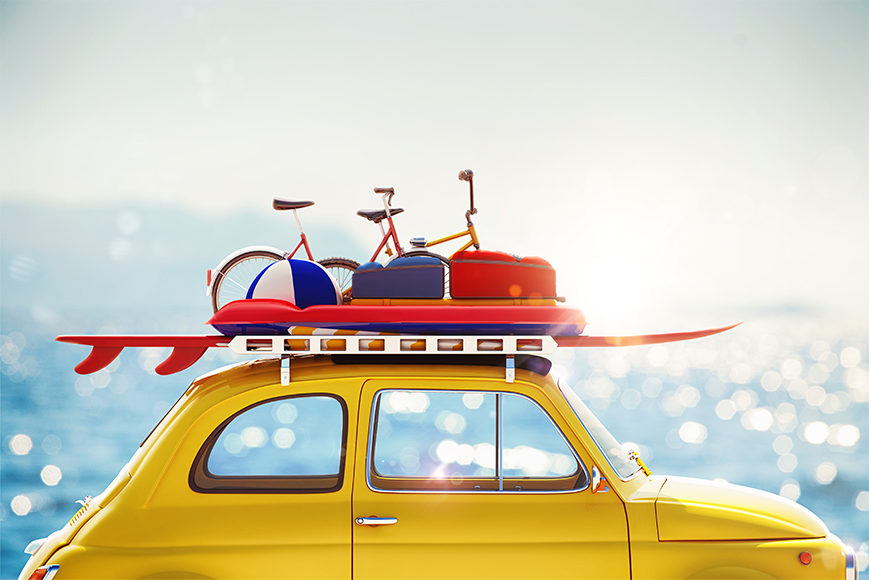 Les accessoires indispensable pour votre départ en vacances