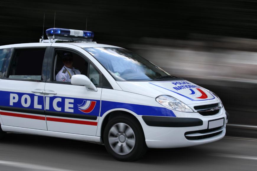 Les accessoires d'une voiture de police