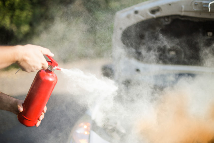 Volvo : les moteurs inflammables?